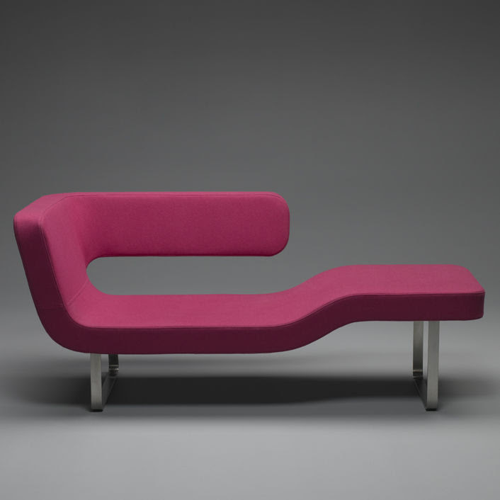 Contemporary lounge chair - CHAISE-LONGUE by Rene Sulc - mminterier