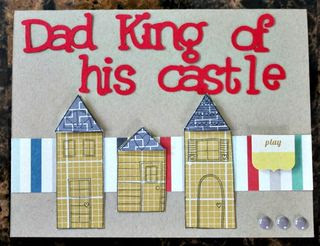 Dad King of Castle