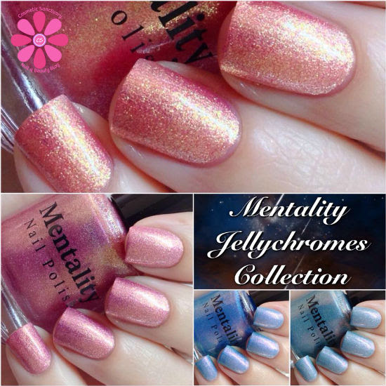 Mentality Nail Polish Jellychomes Collection Swatches & Review
