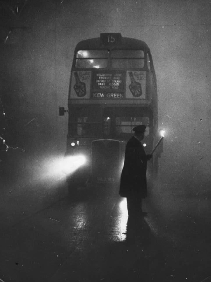 Hombre dirigiendo un autobus