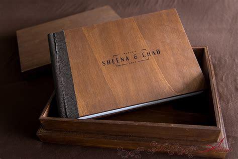 Turks & Caicos Wedding Album and Box ? new wood cover
