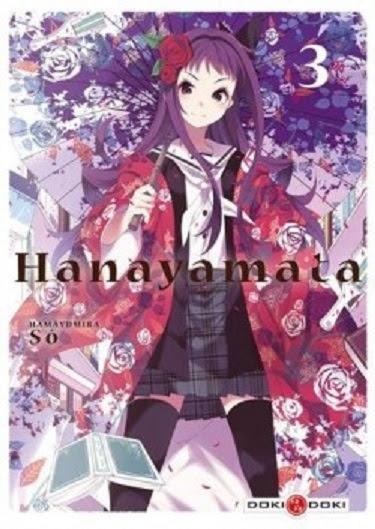 Couverture Hanayamata, tome 3