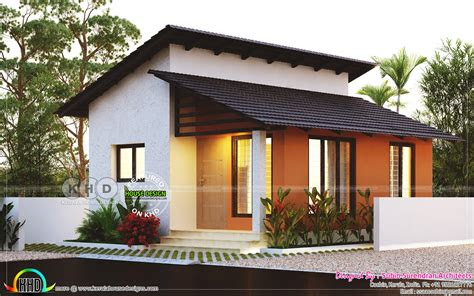 small  cost  bedroom home plan kerala home design