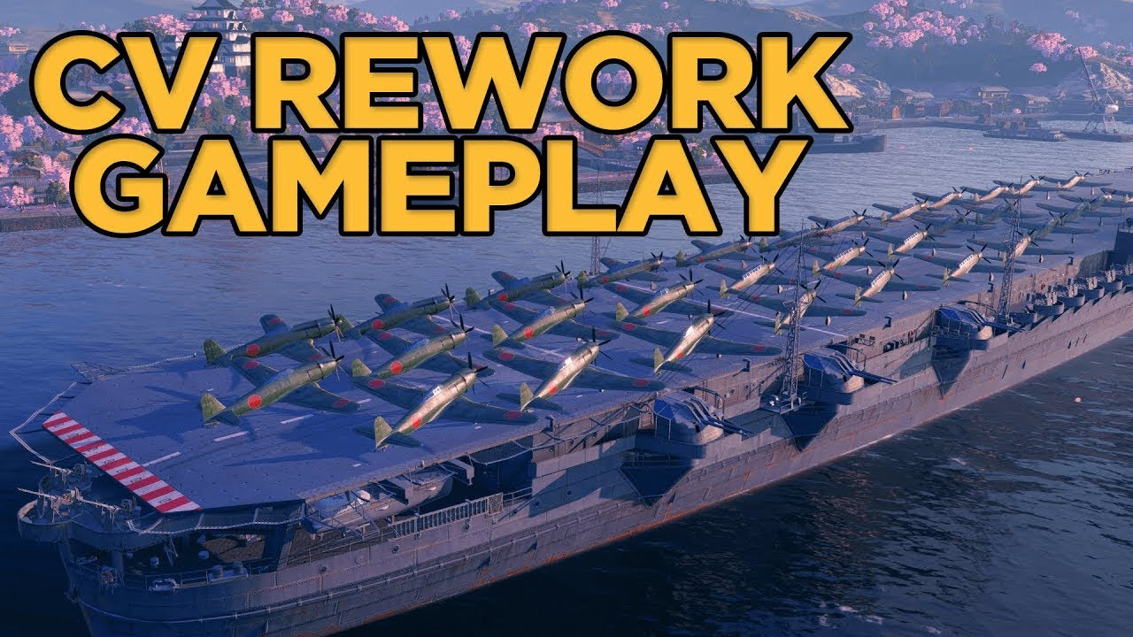 World of Warships - CV Rework Gameplay Discussion