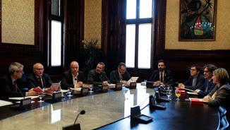 Reunió de la mesa del Parlament (Reuters)