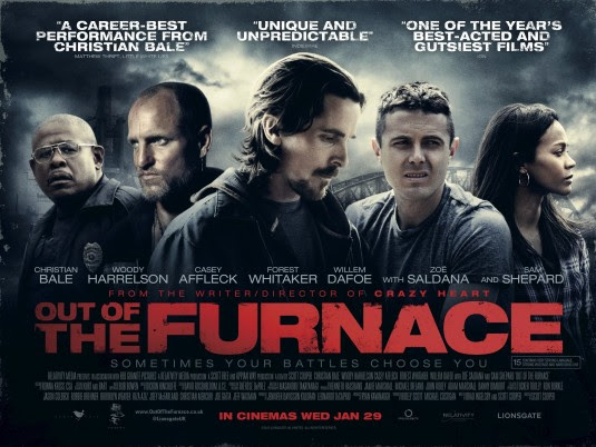 Resultado de imagem para movie poster out of the furnace