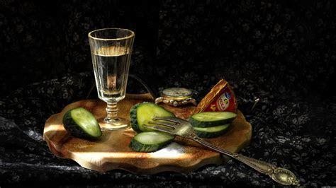 Wallpaper Vodka, Alcohol, Cocktail, Bottle, Glass HD