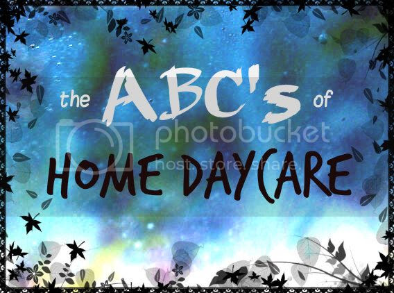 the ABC's of Home Daycare