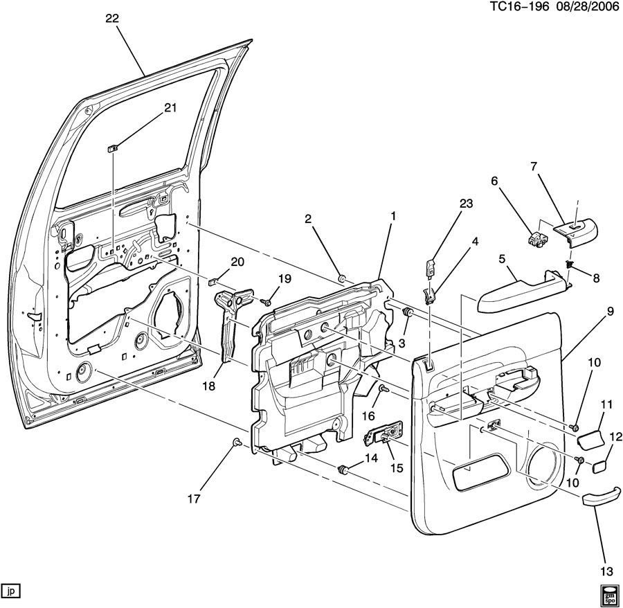 30 2007 Chevy Silverado Parts Diagram