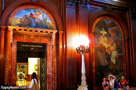 McGraw Rotunda in the New York Public Library