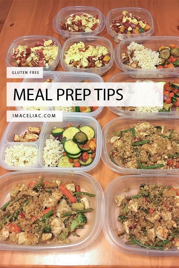 Meal Prep Tips With Recipes - I'm A Celiac