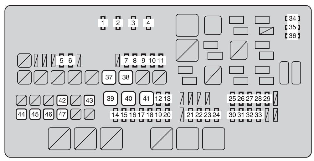 2014 Toyotum Tundra Fuse Diagram