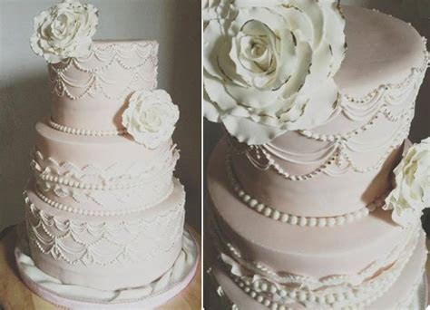 Scallop Piping & Scalloped Cake Designs ? Cake Geek Magazine