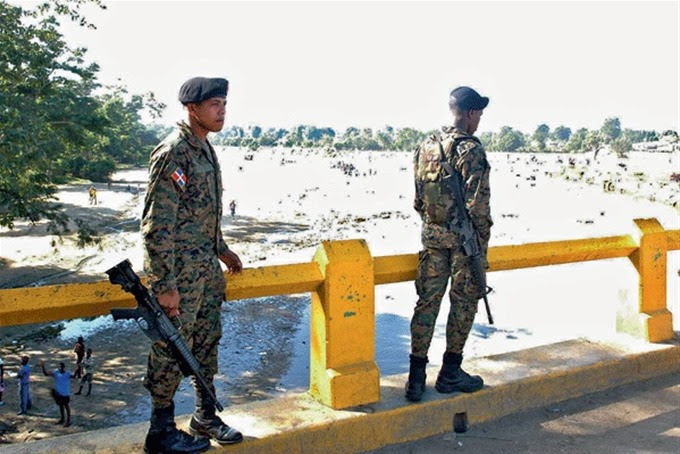 La República Dominicana moviliza tropas y helicópteros a la frontera