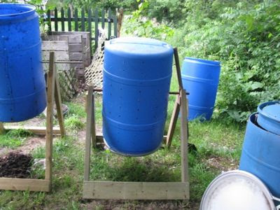Testing Compost Tumblers compos tumbler