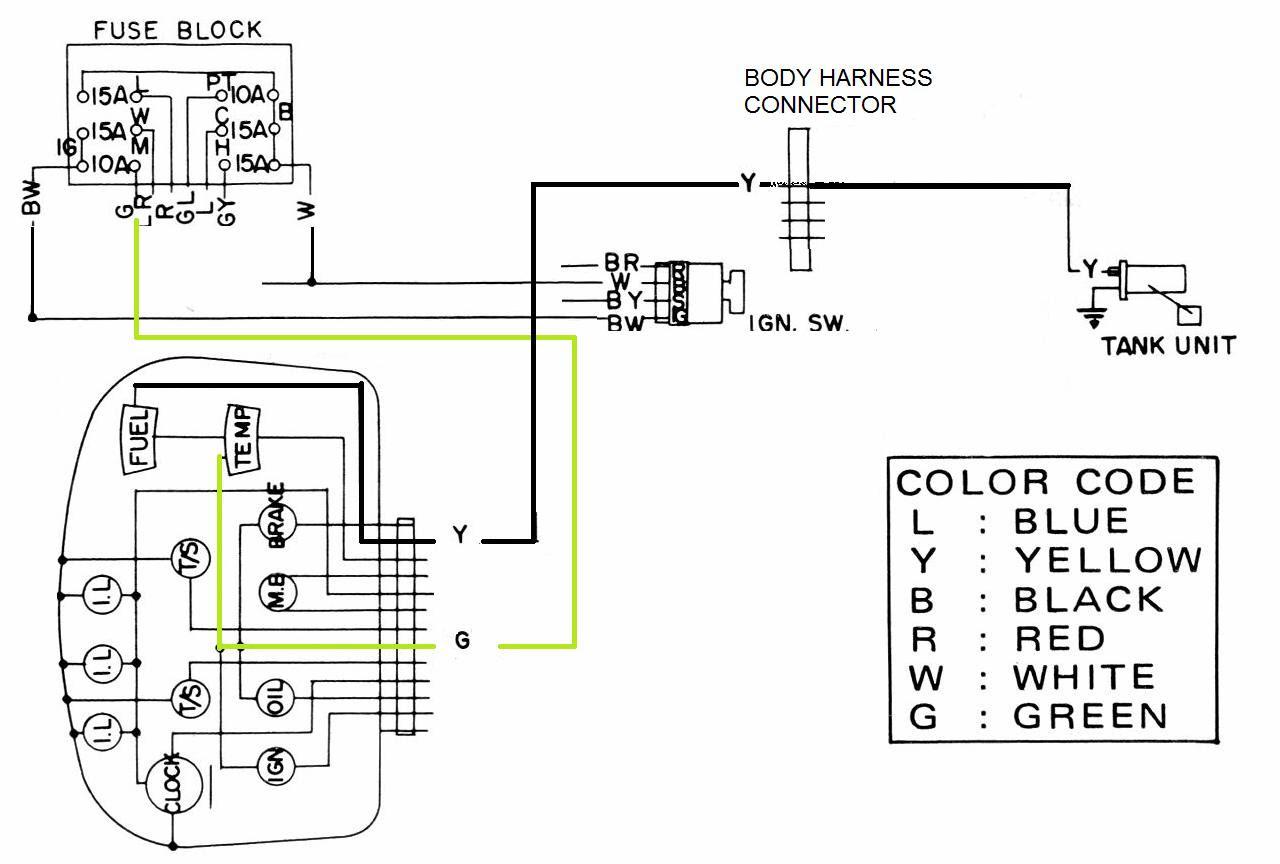 Basic Wiring Diagram Fuel Gauge - Wiring Diagram Schema