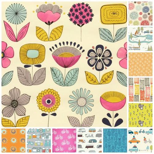 Sew Fresh Fabrics Summer Collage