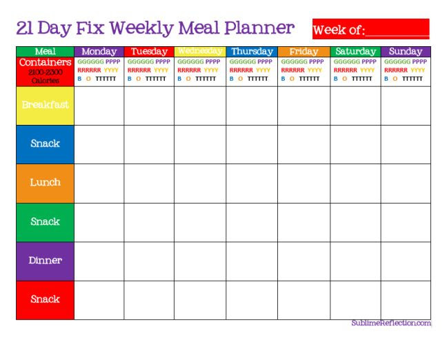 1000+ ideas about Meal Plan Templates on Pinterest | Meal planning ...