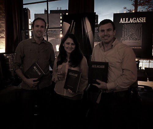 Author, publisher, & brewery ( Allagash: The Cookbook)