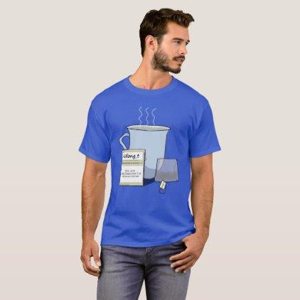 Tea, a Computer Nerd Pun T-Shirt