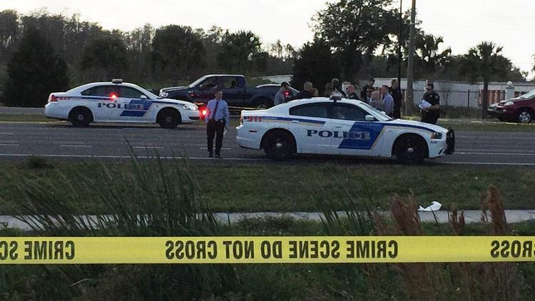 Pictures: Orlando police officer involved in shooting at Wal-Mart
