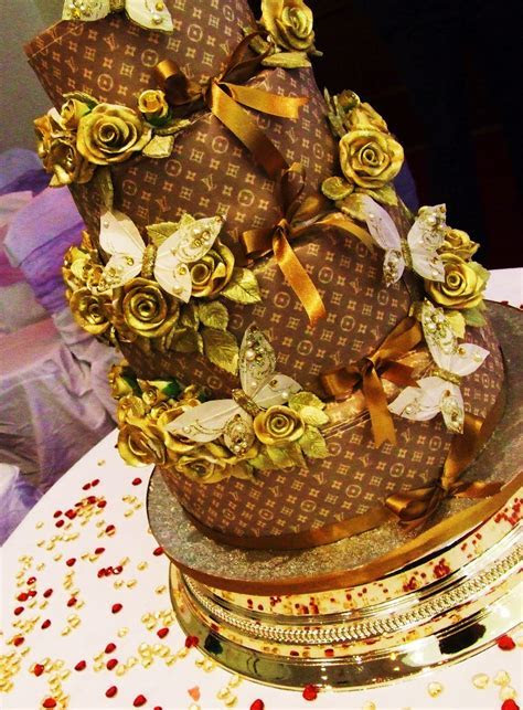 Iced Out Company Cakes!: Louis Vuitton Wedding Cake @ Iced Out