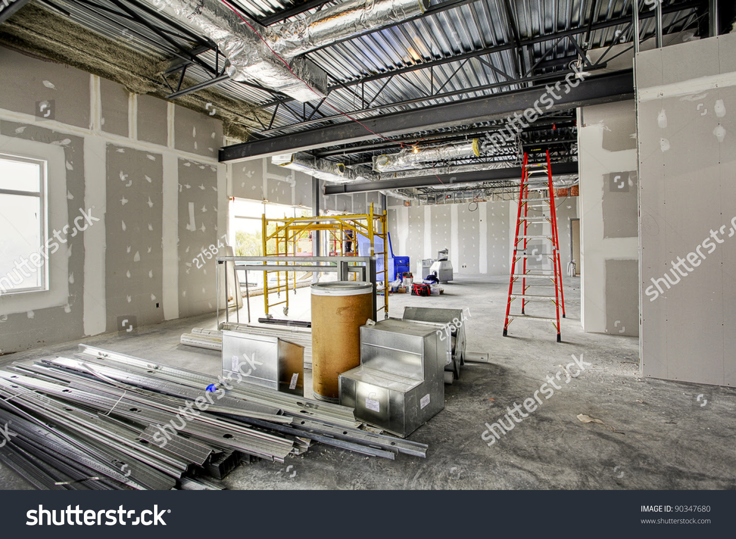 Interior Construction Site Royalty Free Stock Photo ...
