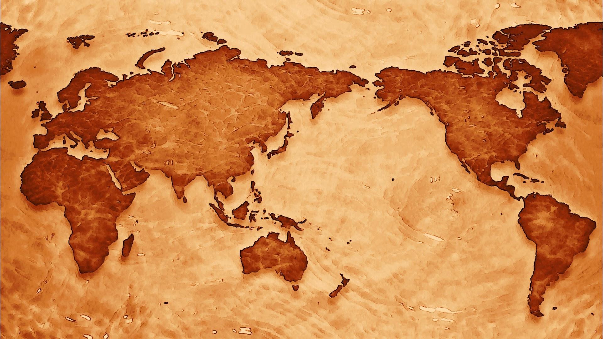 Antique World Map Wallpaper (39+ images)