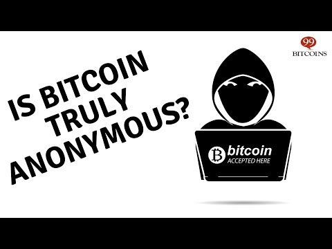 Can you trade bitcoin annonymously