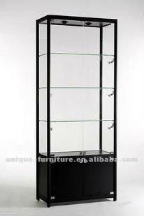 aluminium showcase with led lights, View aluminium showcase ...