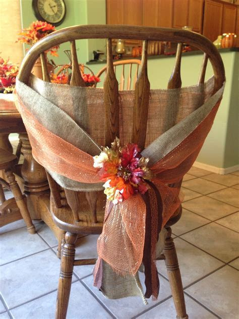 Fall chair cover, could put over another basic cover and