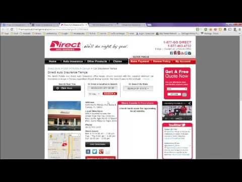 Insurance Company: Auto Insurance Tampa