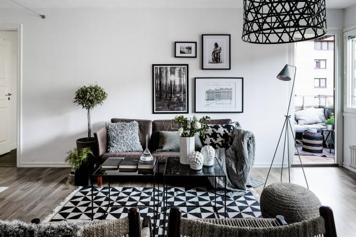Black Grey And White Living Room Ideas Home Design Ideas