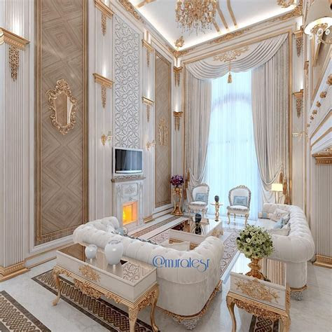 white  gold living room incredible interiors luxury