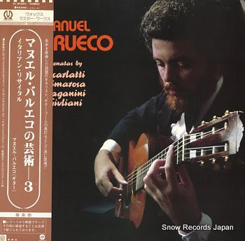 BARRUECO, MANUEL sonatas by scarlatti cimarosa paganini guiliani
