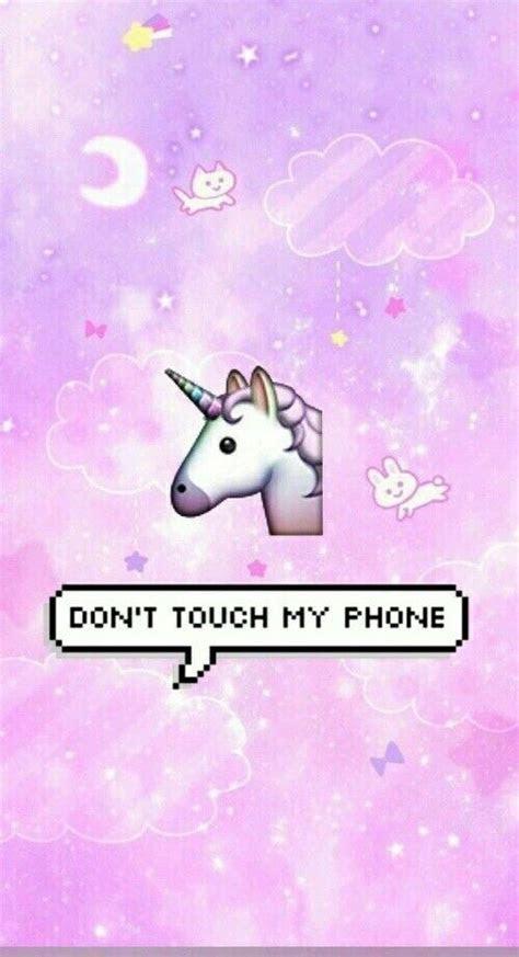 tela bloqueio unicornio fofo wallpaper papel de parede bonito  iphone papeis de parede