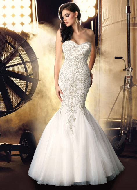 Impression Bridal 10213 Ivory or white silver, gold detail