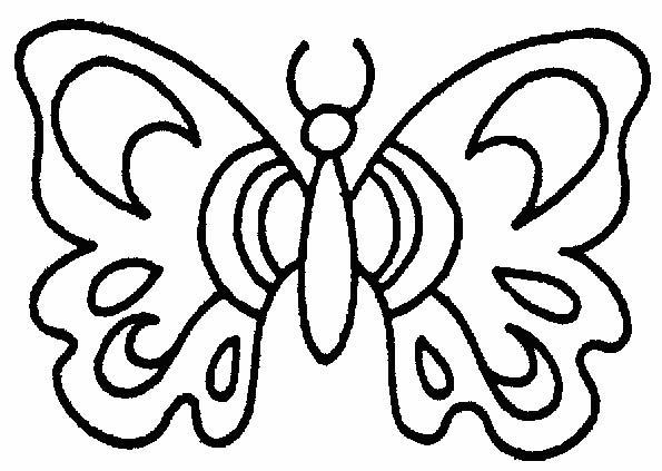 Farfalle 5 Disegni Per Bambini Da Colorare