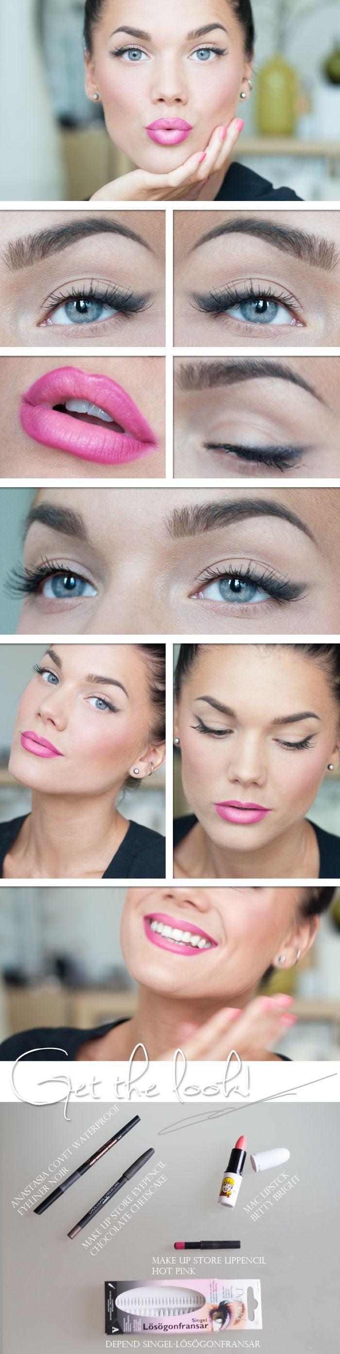 Focus on the lips - Linda Hallberg soft eye shadow