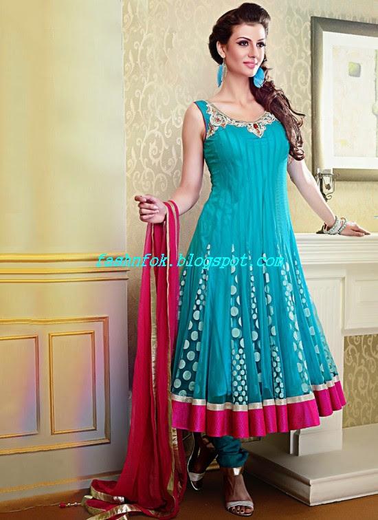 Beautiful-Gorgeous-Anarkali-Bridal-Wedding-Frock-New-Fashion-Trend-for-Cute-Girls-2013-14-9