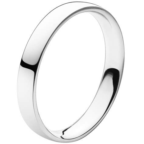 Georg Jensen Magic platinum medium width wedding band