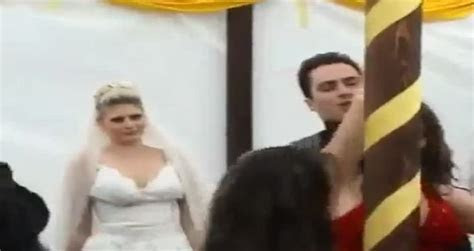 Drunk woman ruins wedding of her best friend   Videos