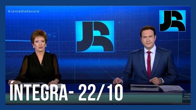 Assista à íntegra do Jornal da Record   22/12/2020