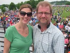 Shannon and Stewart at Scottypalooza