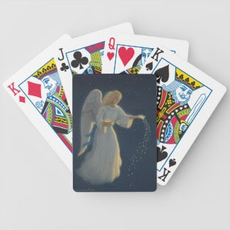 Angel of Abundance Playing Cards Bicycle Playing Cards