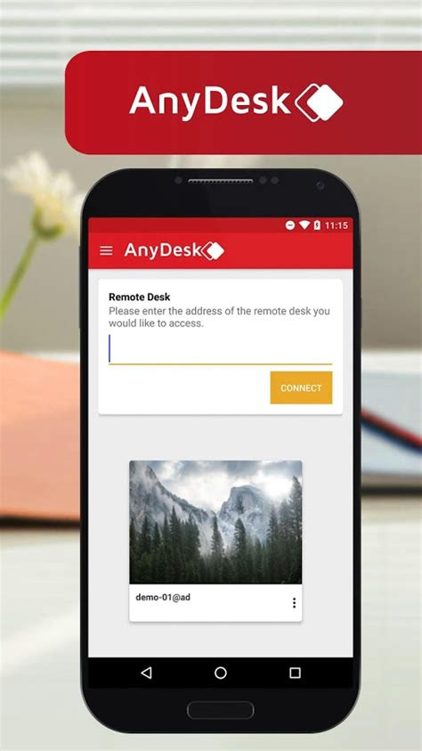 anydesk remote pcmac control  android