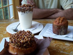 Breakfast at the Apple Pie Bakery Cafe