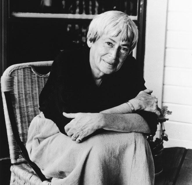 Ursula K. Le Guin ⁞