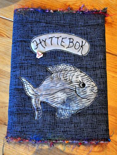 -3 Hyttebok 23 x 17 cm by Marits Kunstquilt