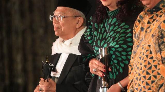 Amien Rais Sebut 74 Persen Lahan di Indonesia Dikuasai Asing, Ma'ruf Amin Bilang Begini